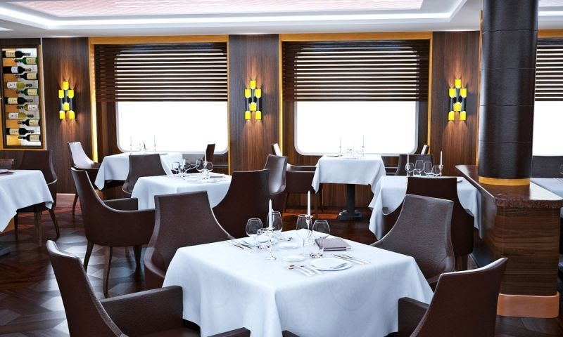 Yacht Club-exclusive Restaurant